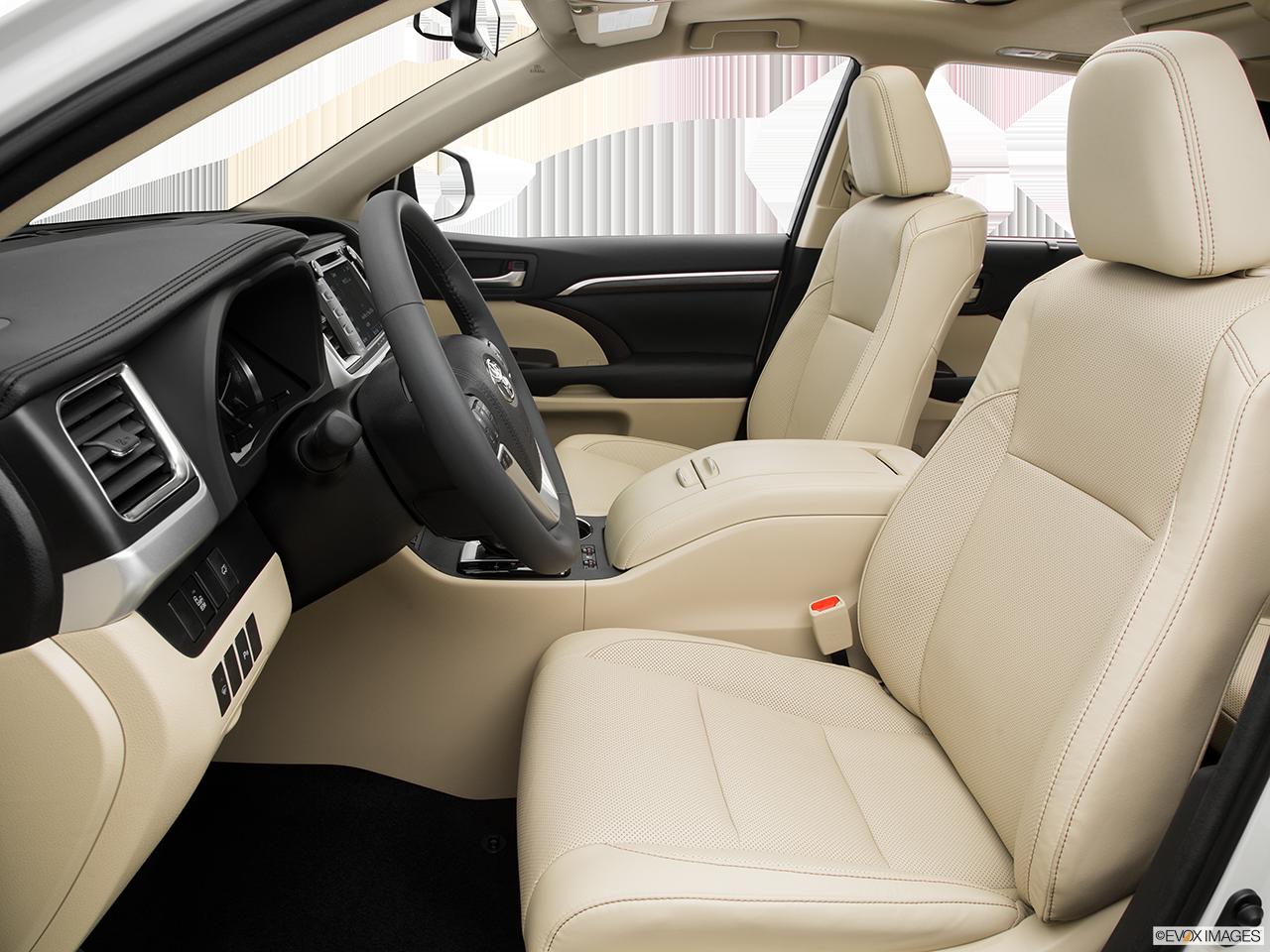 Alternative Interior View Of 2016 Toyota Highlander in Sacramento
