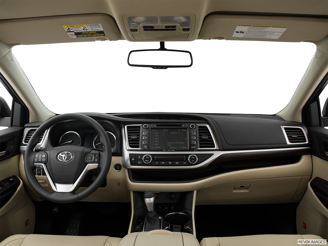 Interior View Of 2016 Toyota Highlander in Tustin