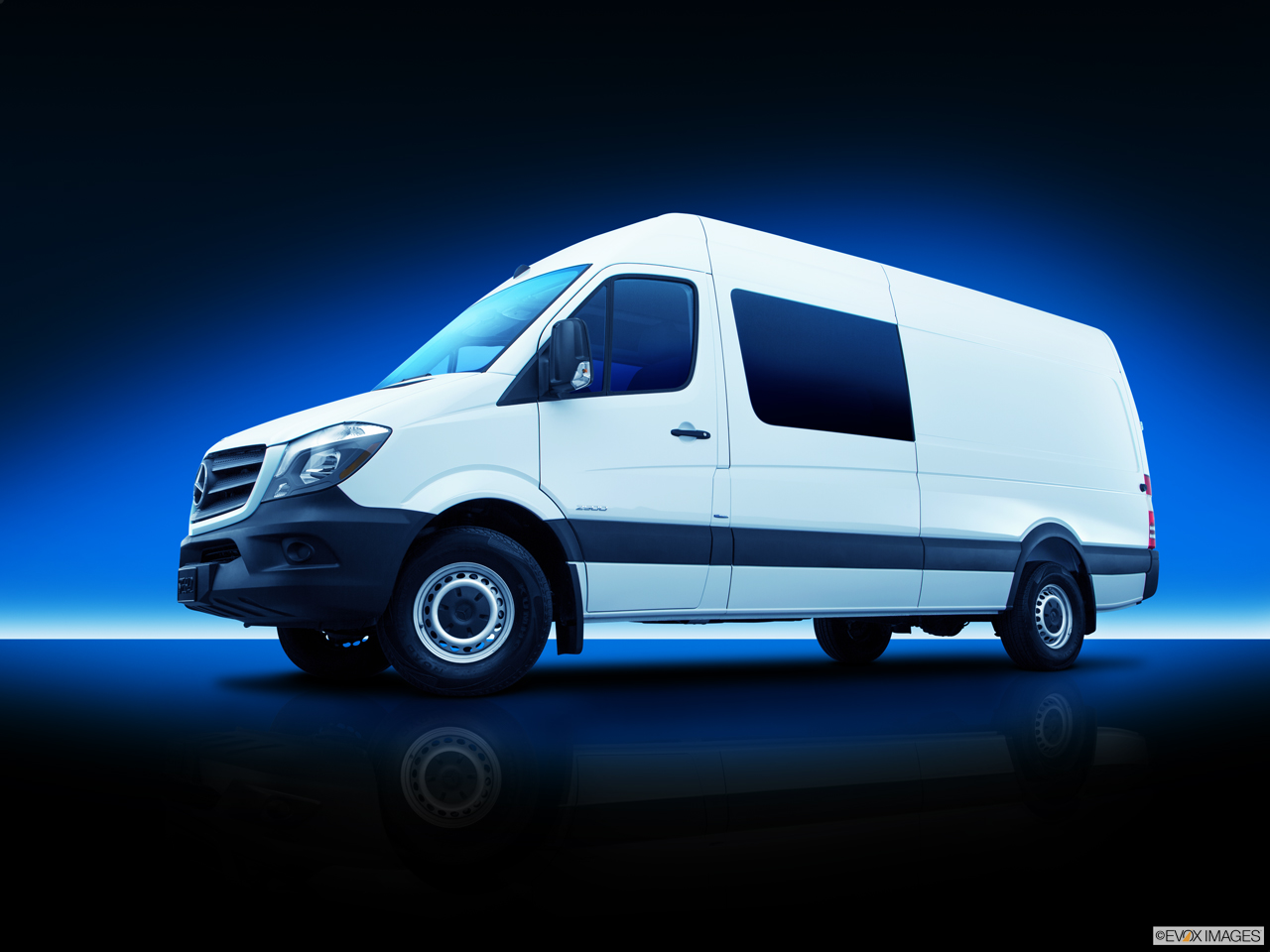 Exterior View Of 2016 Mercedes-Benz Sprinter Crew Van in El Cajon