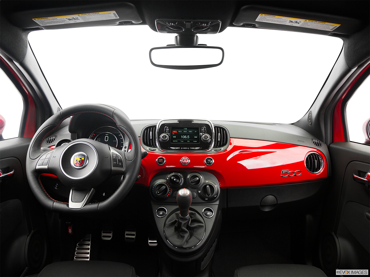 Interior View Of 2016 Fiat 500 Abarth in Tamarac