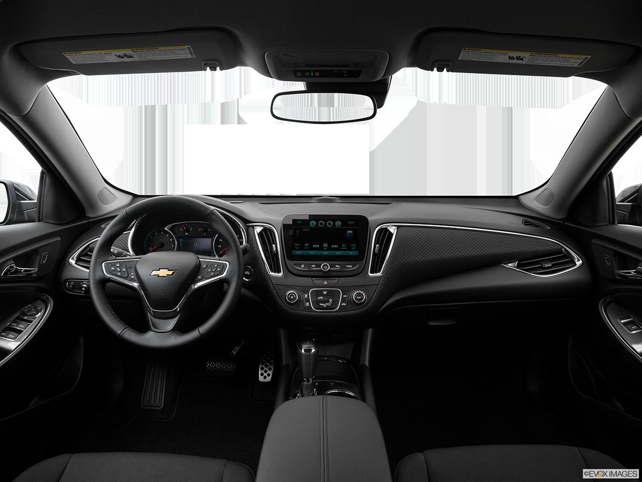 Interior View Of 2016 Chevrolet Malibu In Reno
