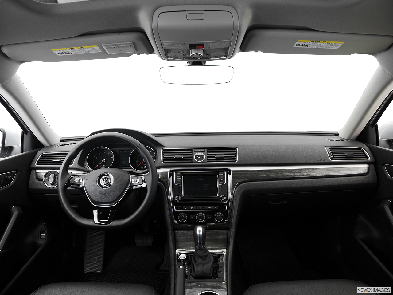 Interior View Of 2016 Volkswagen Passat Riverside