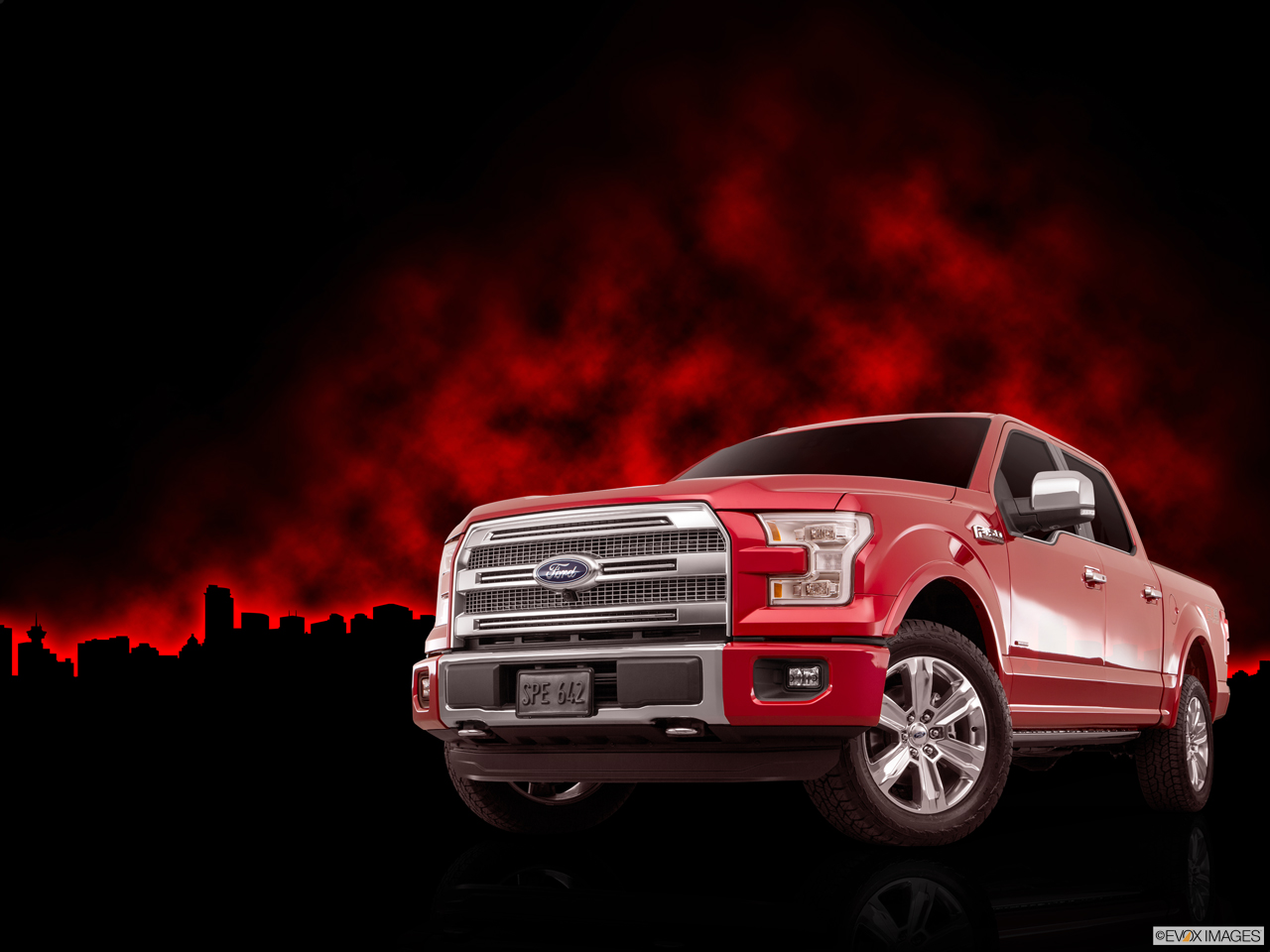 Exterior View Of 2016 Ford F-150 in Harrisburg