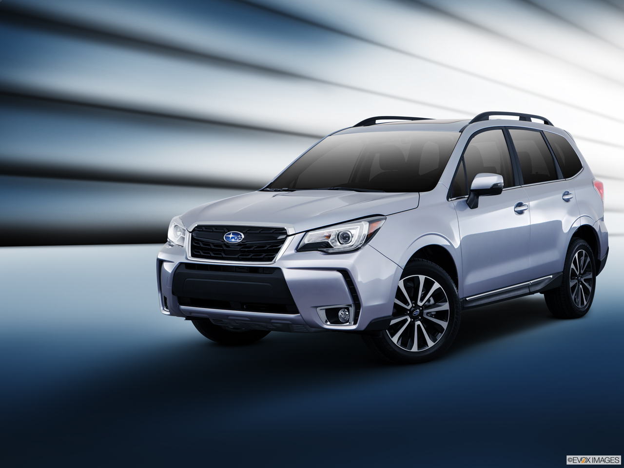 Exterior View Of 2017 Subaru Forester in Los Angeles