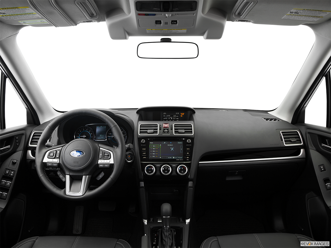Interior View Of 2017 Subaru Forester in Los Angeles