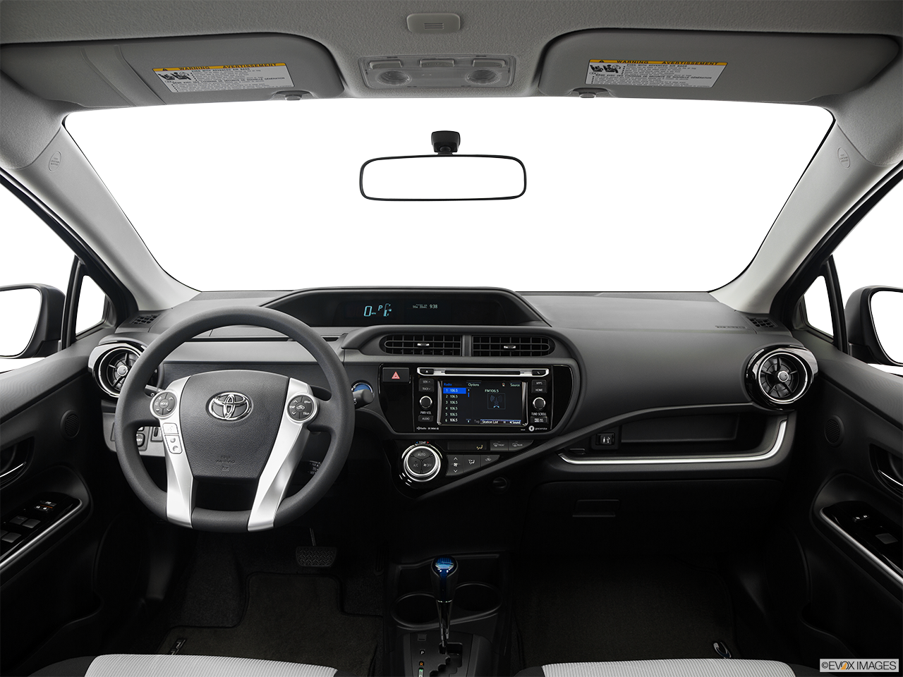 Interior View Of 2016 Toyota Prius C in Tustin
