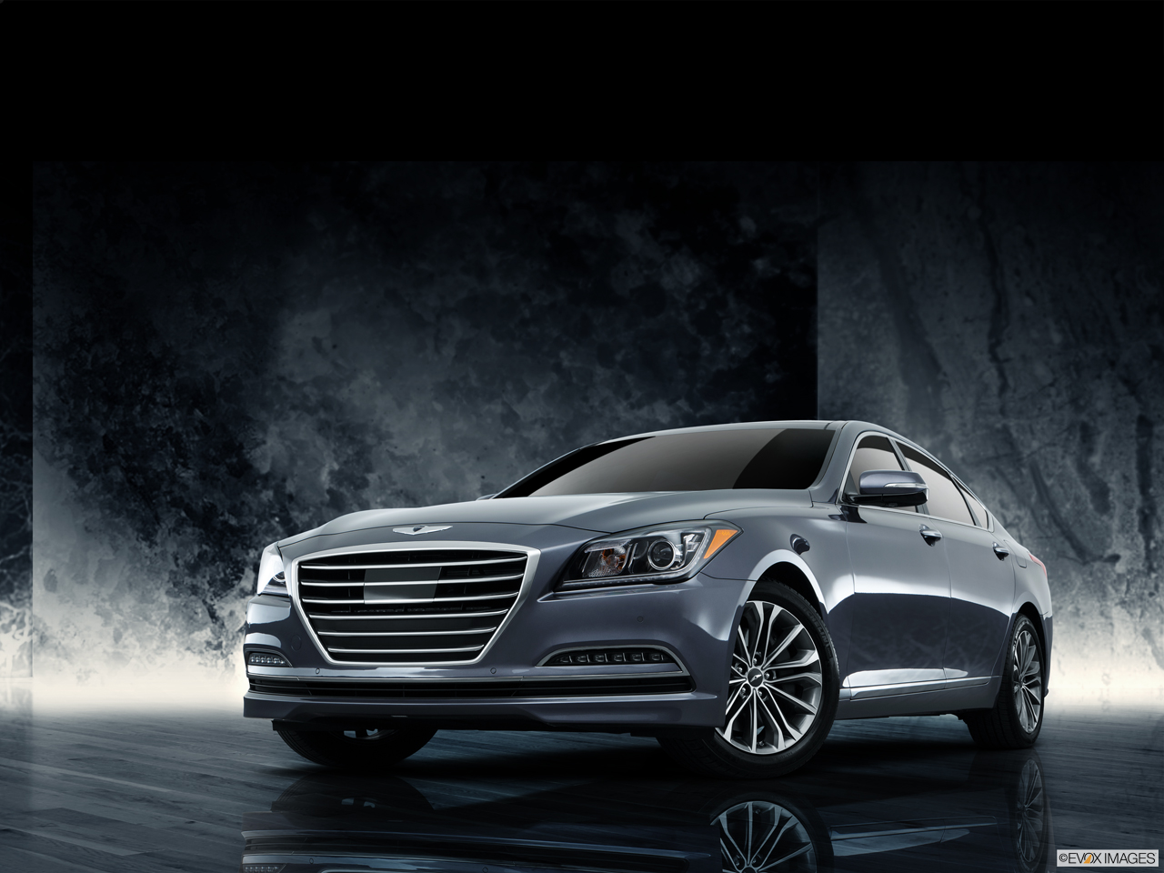 Exterior View Of 2016 Hyundai Genesis in Tracy
