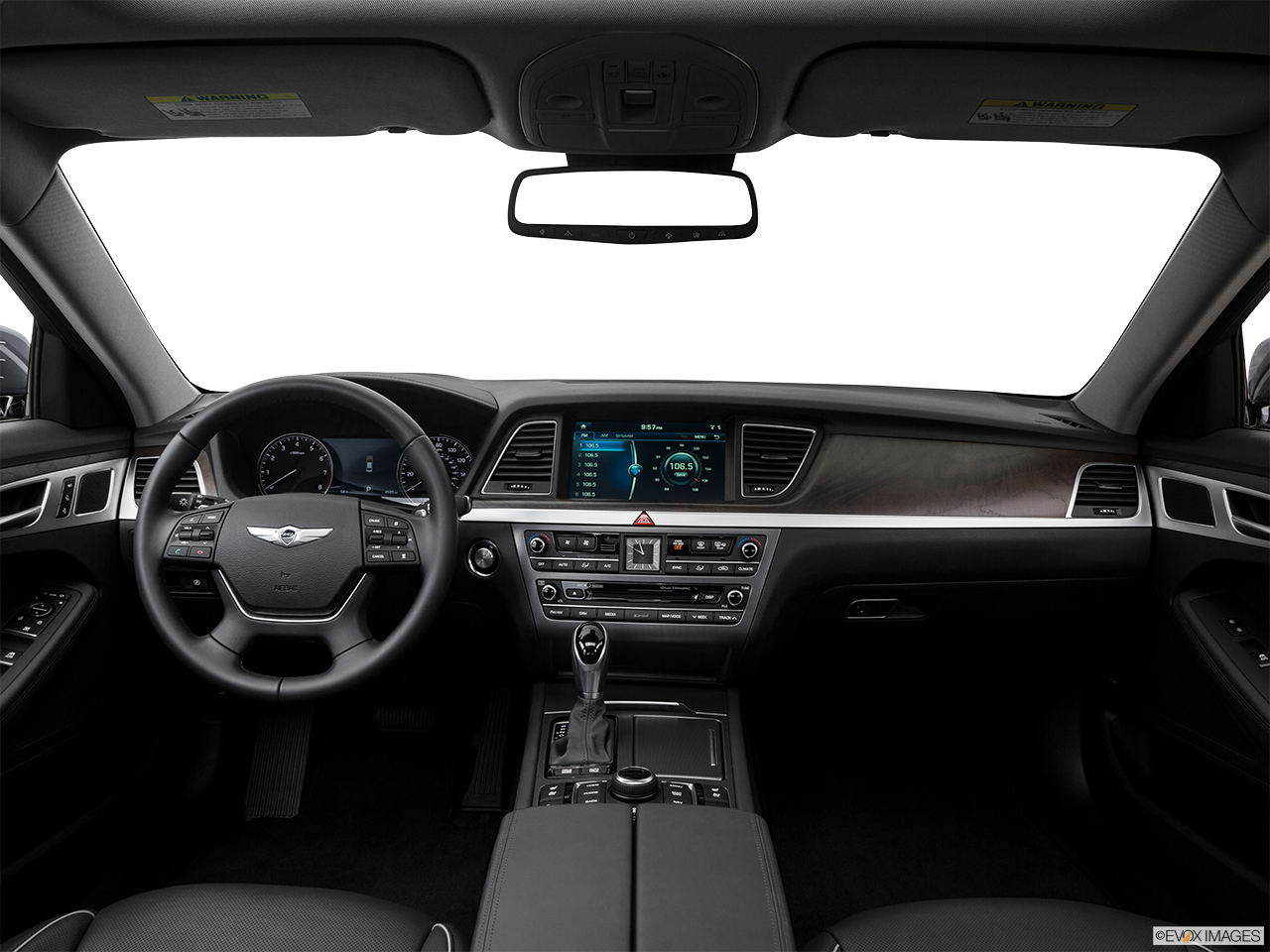 Interior View Of 2016 Hyundai Genesis in Tracy