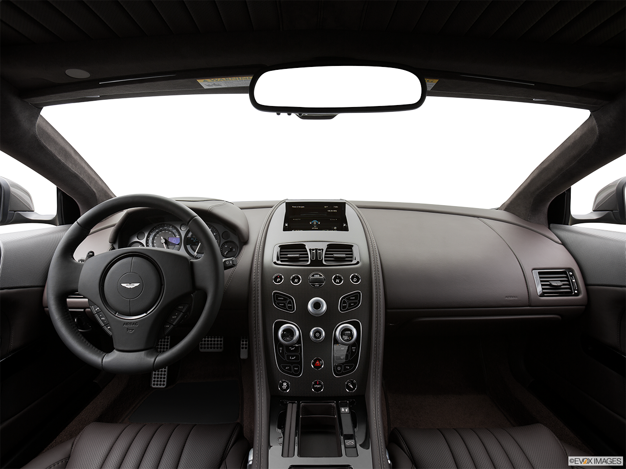 Interior View Of 2016 Aston Martin DB9 in Los Angeles