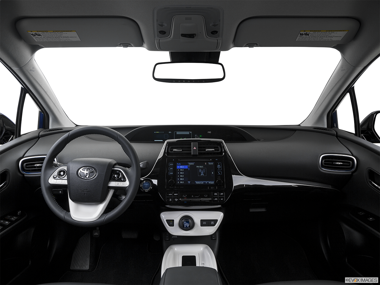 Interior View Of 2016 Toyota Prius in Los Angeles