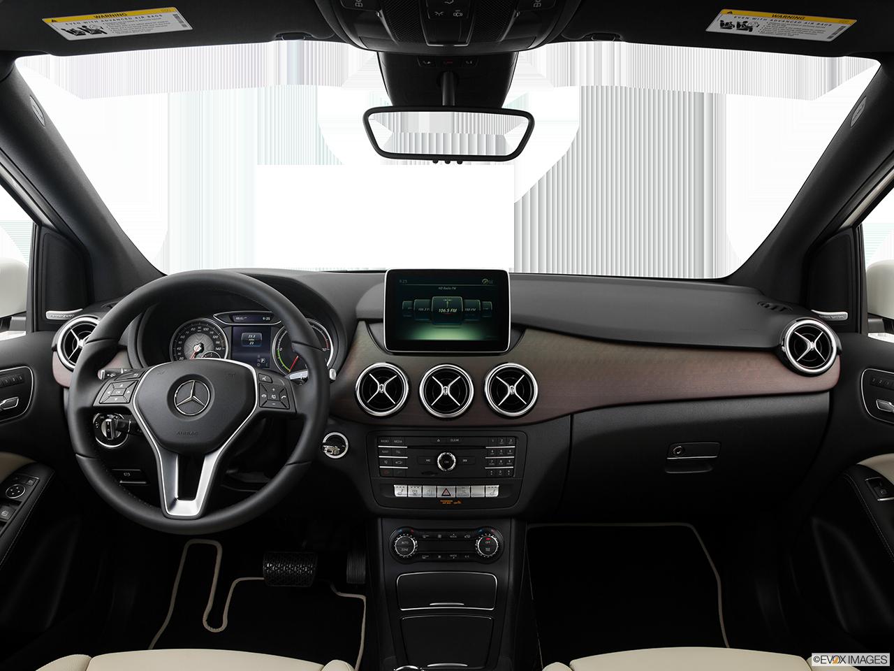 Interior View Of 2016 Mercedes-Benz B250e in El Cajon