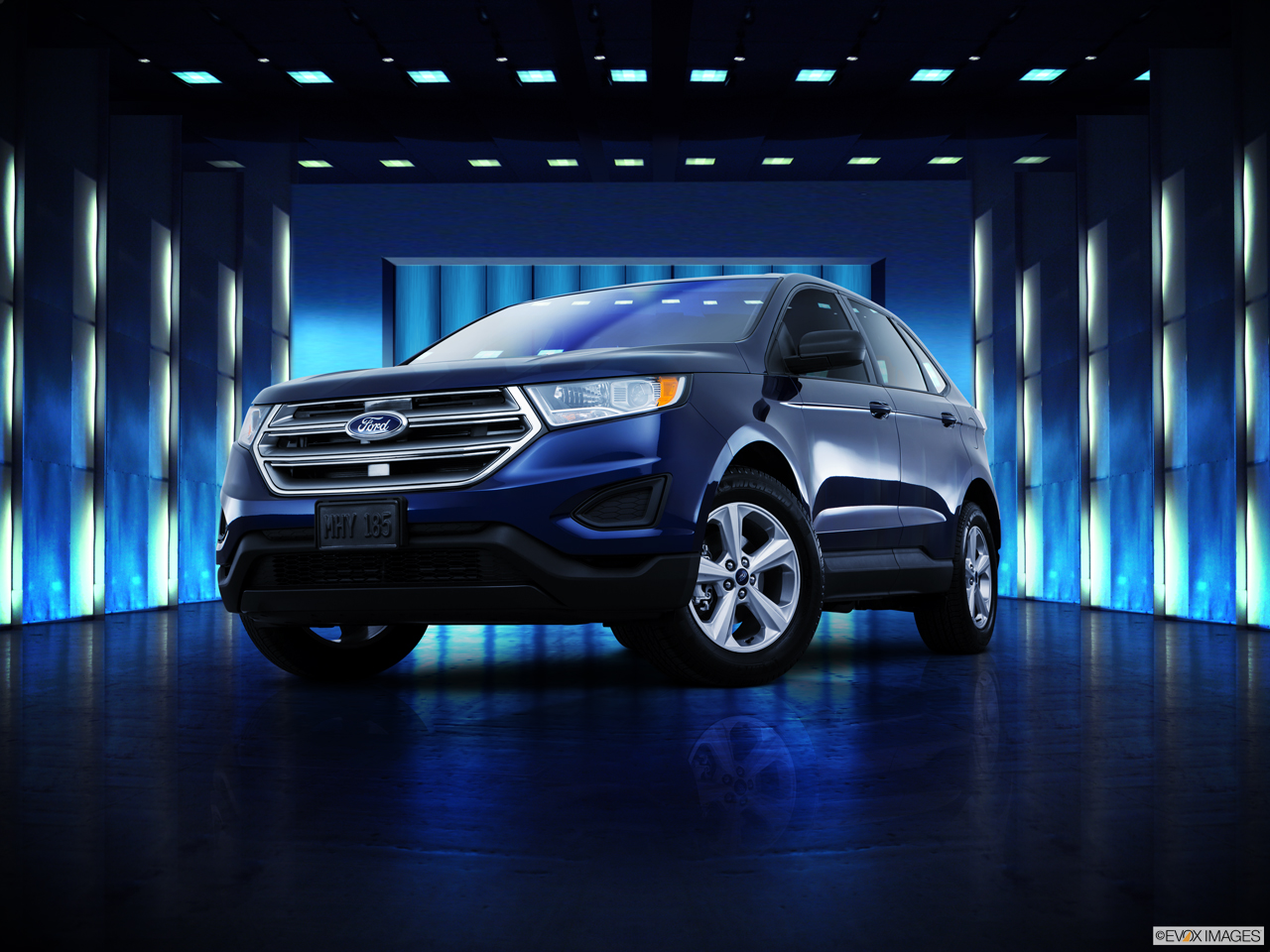 Exterior View Of 2016 Ford Edge in San Bernardino County