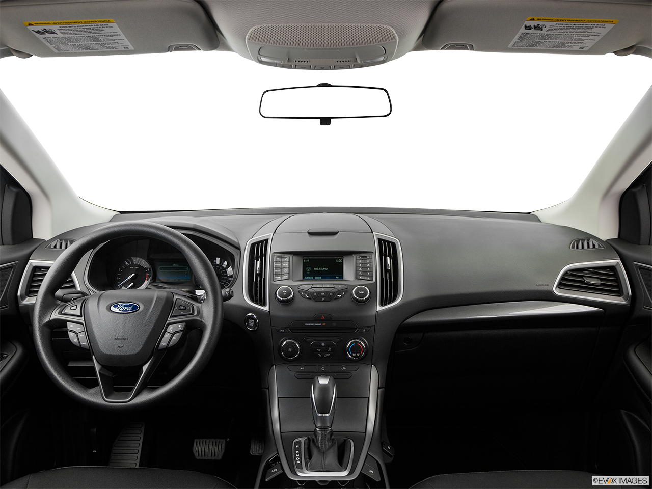 Interior View Of 2016 Ford Edge in Los Angeles