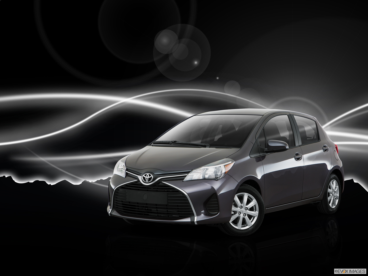 Exterior View Of 2016 Toyota Yaris in Sacramento