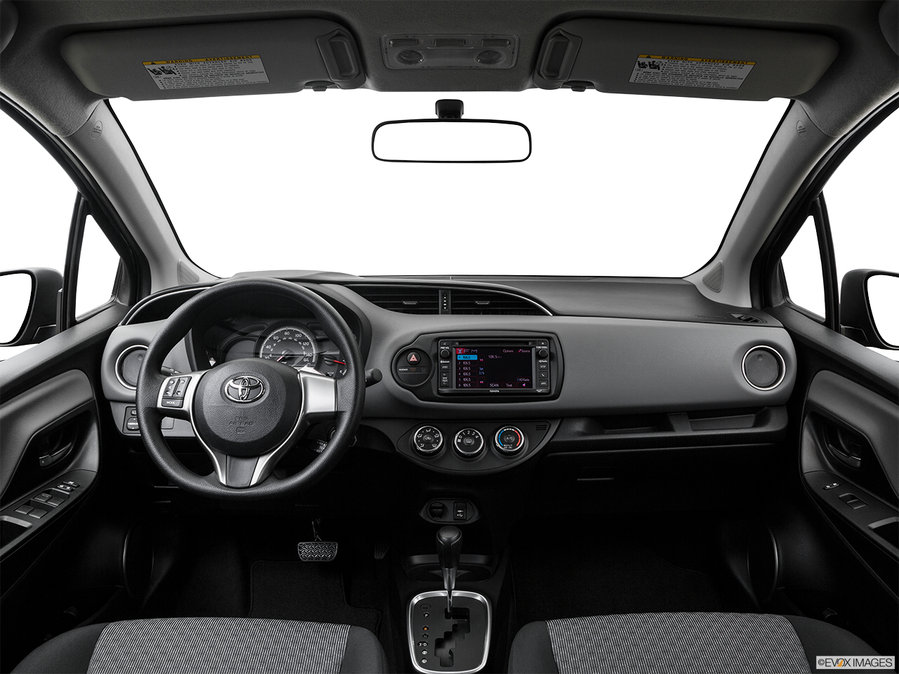 Interior View Of 2016 Toyota Yaris Riverside