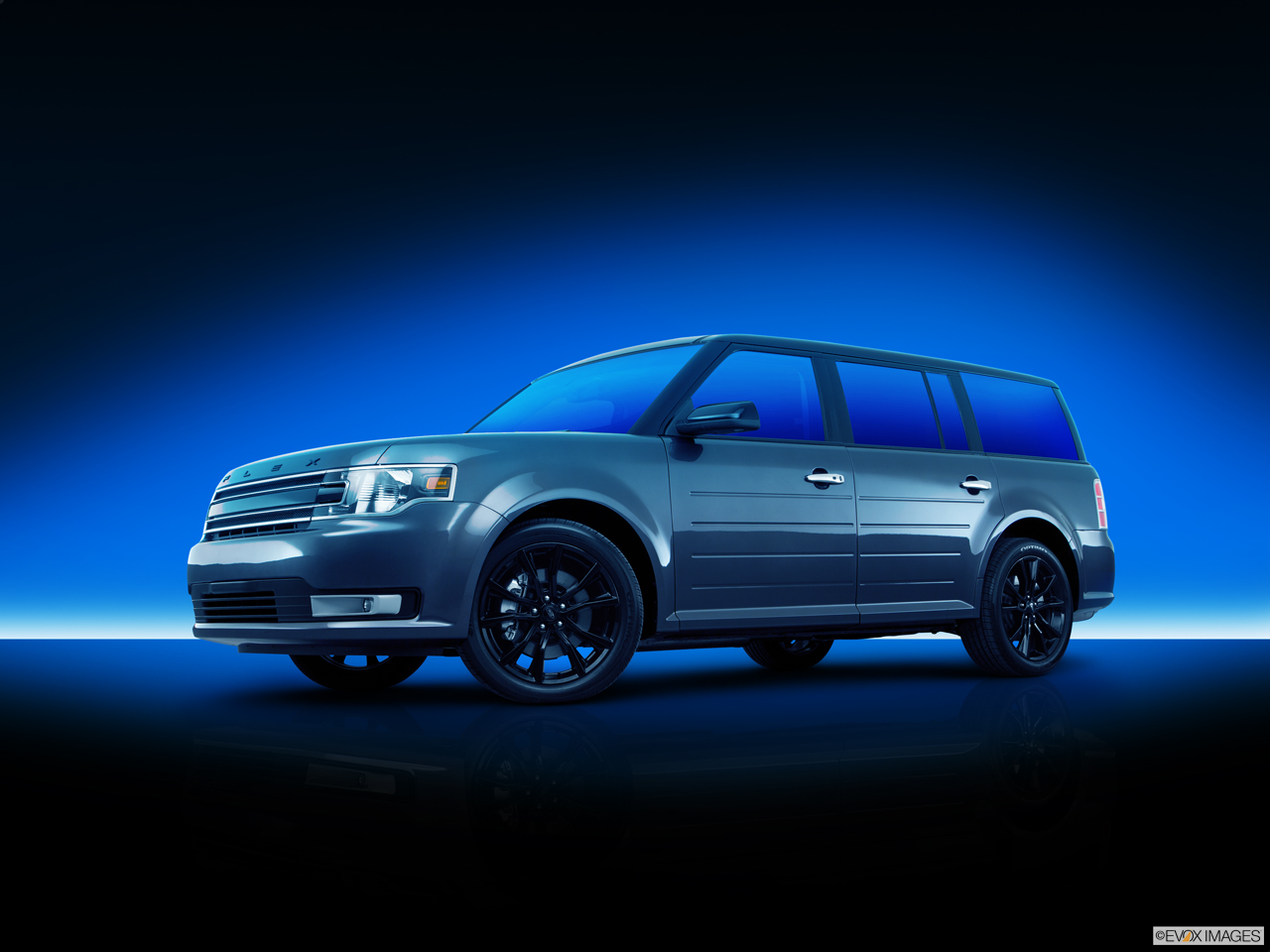 Exterior View Of 2016 Ford Flex in Canton