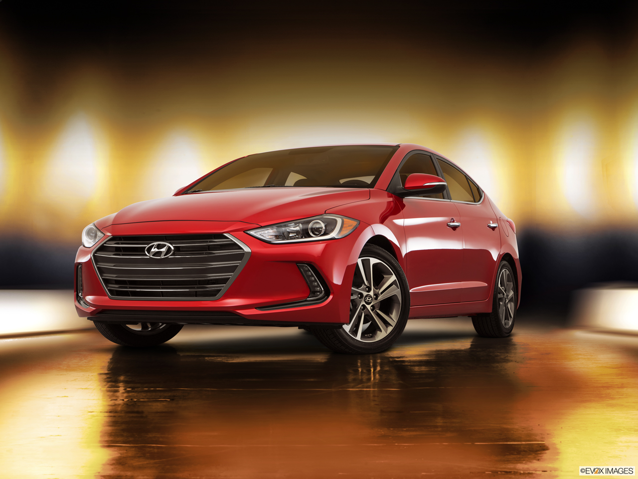 Exterior View Of 2017 Hyundai Elantra in Tracy