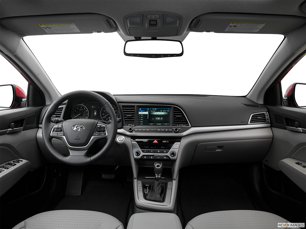 Interior View Of 2017 Hyundai Elantra in Tracy