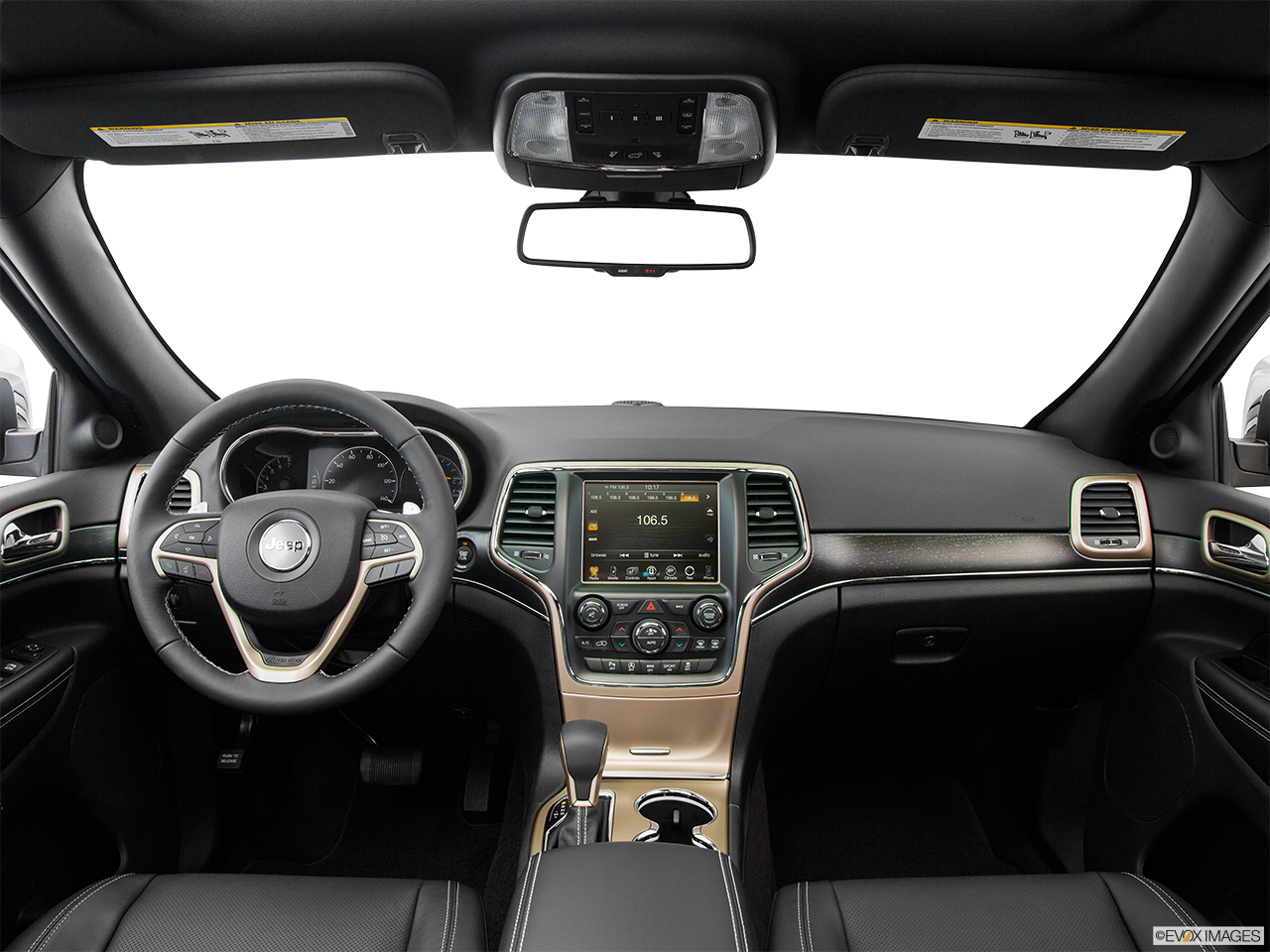 Interior View Of 2016 Jeep Grand Cherokee in Tracy