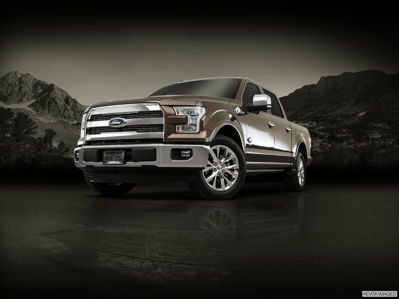Exterior View Of 2016 Ford F-150 in Canton