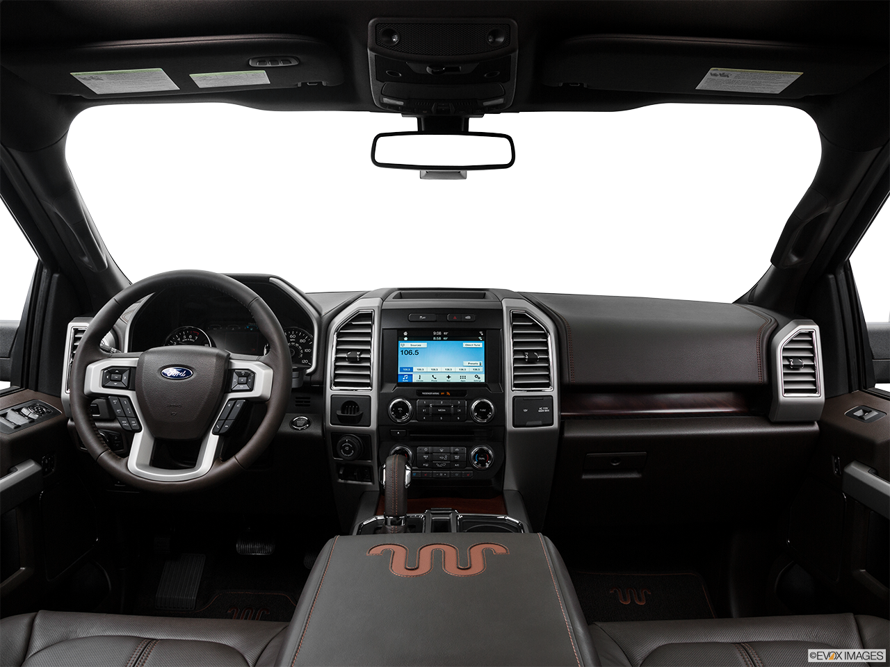Interior View Of 2016 Ford F-150 in San Diego