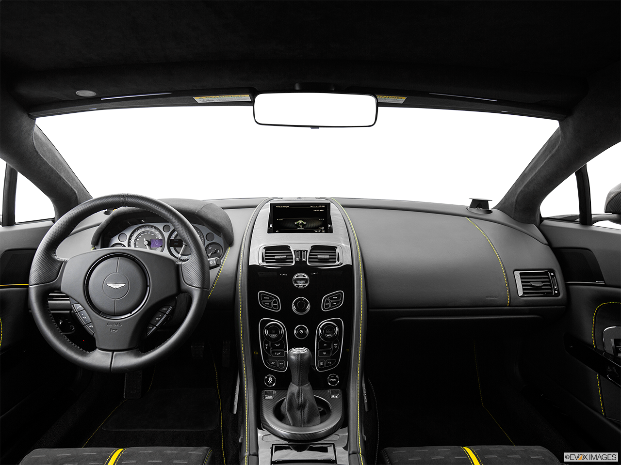 Interior View Of 2016 Aston Martin Vantage in Los Angeles