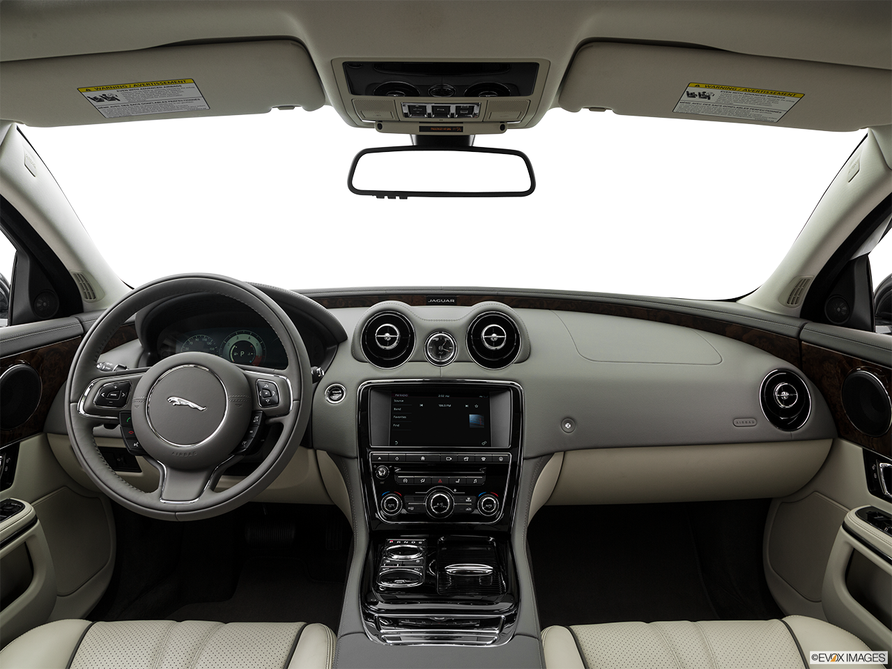 Interior View Of 2016 Jaguar XJ in Los Angeles
