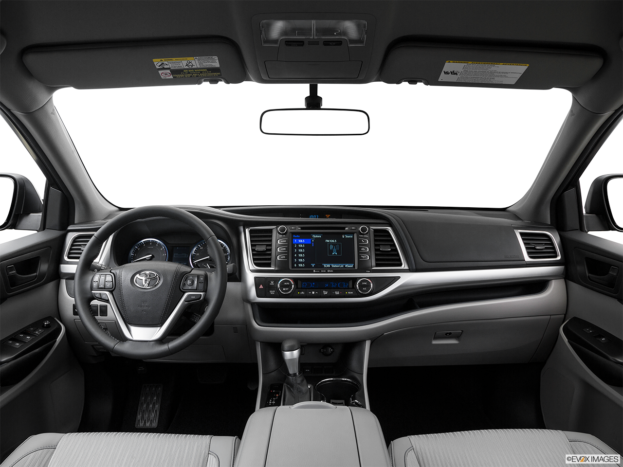 Interior View Of 2016 Toyota Highlander Riverside
