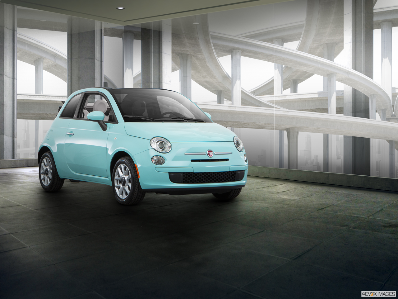 Exterior View Of 2016 Fiat 500C in Tamarac