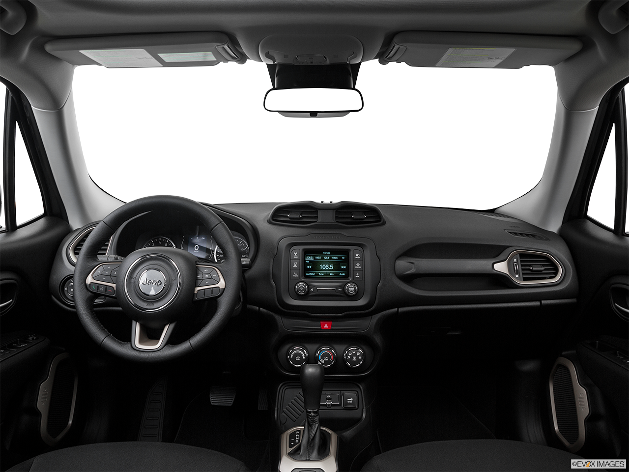 Interior View Of 2016 Jeep Renegade in Fort Pierce