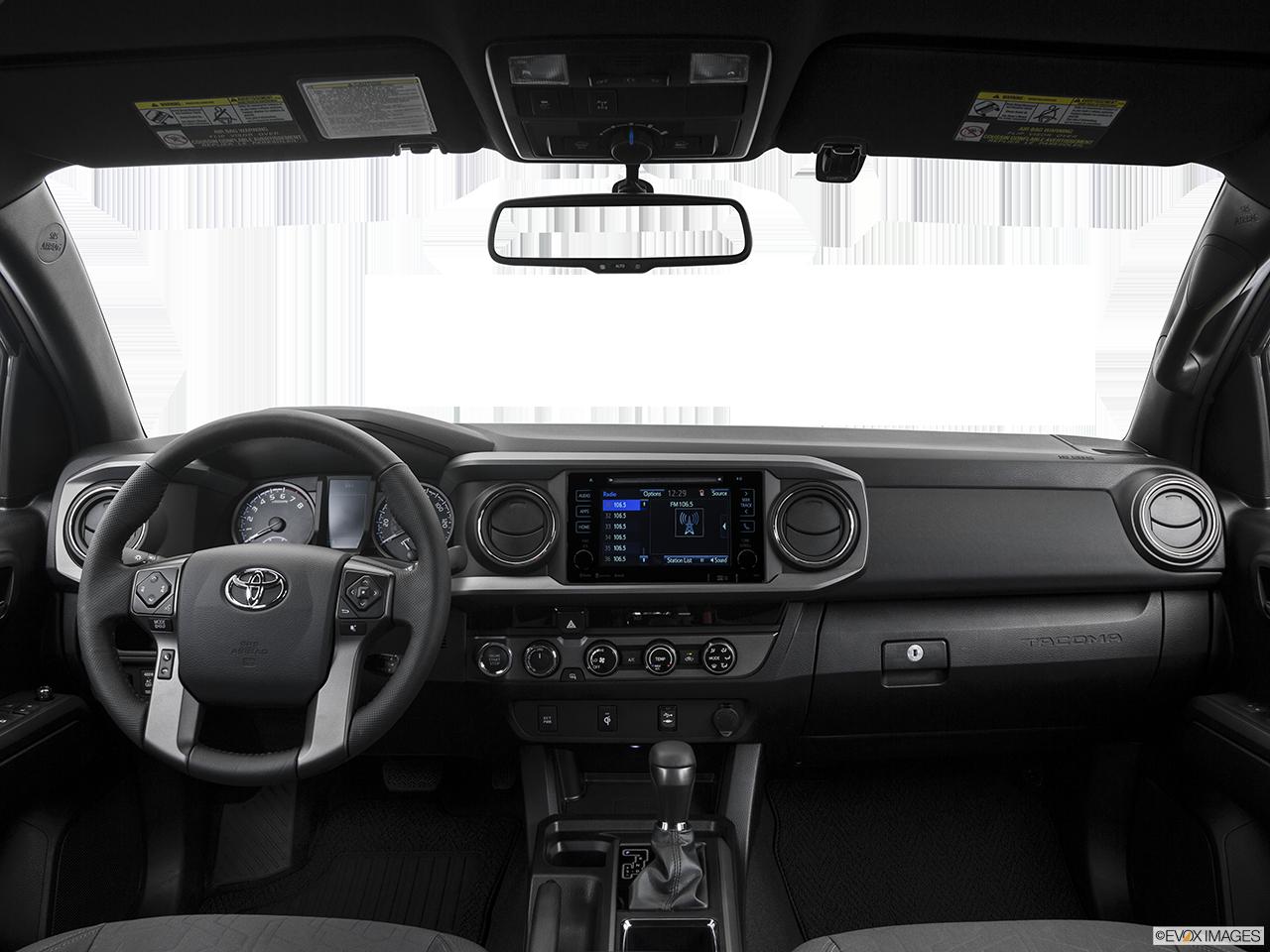 Interior View Of 2017 Toyota Tacoma in Sacramento