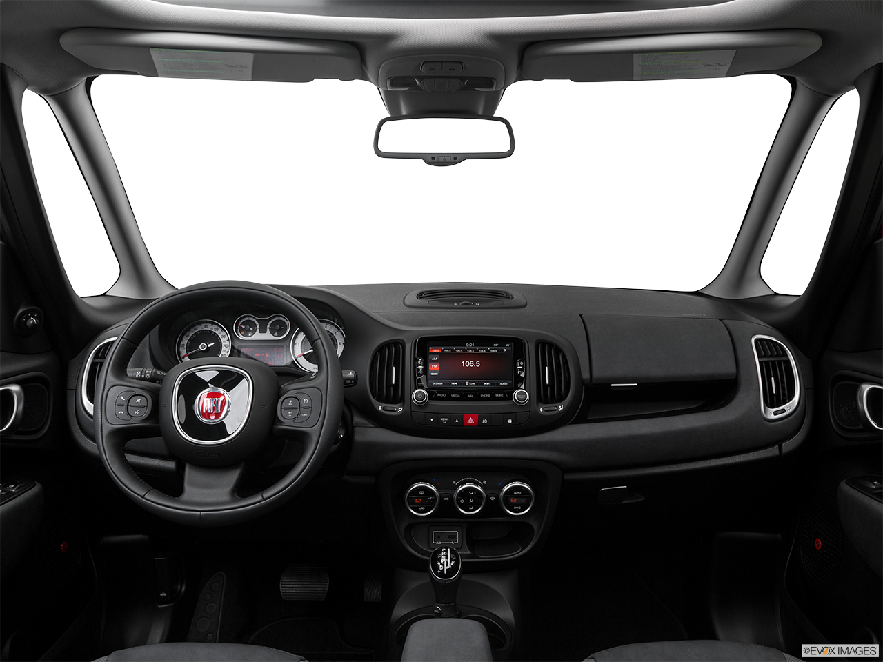 Interior View Of 2016 Fiat 500L in West Palm Beach