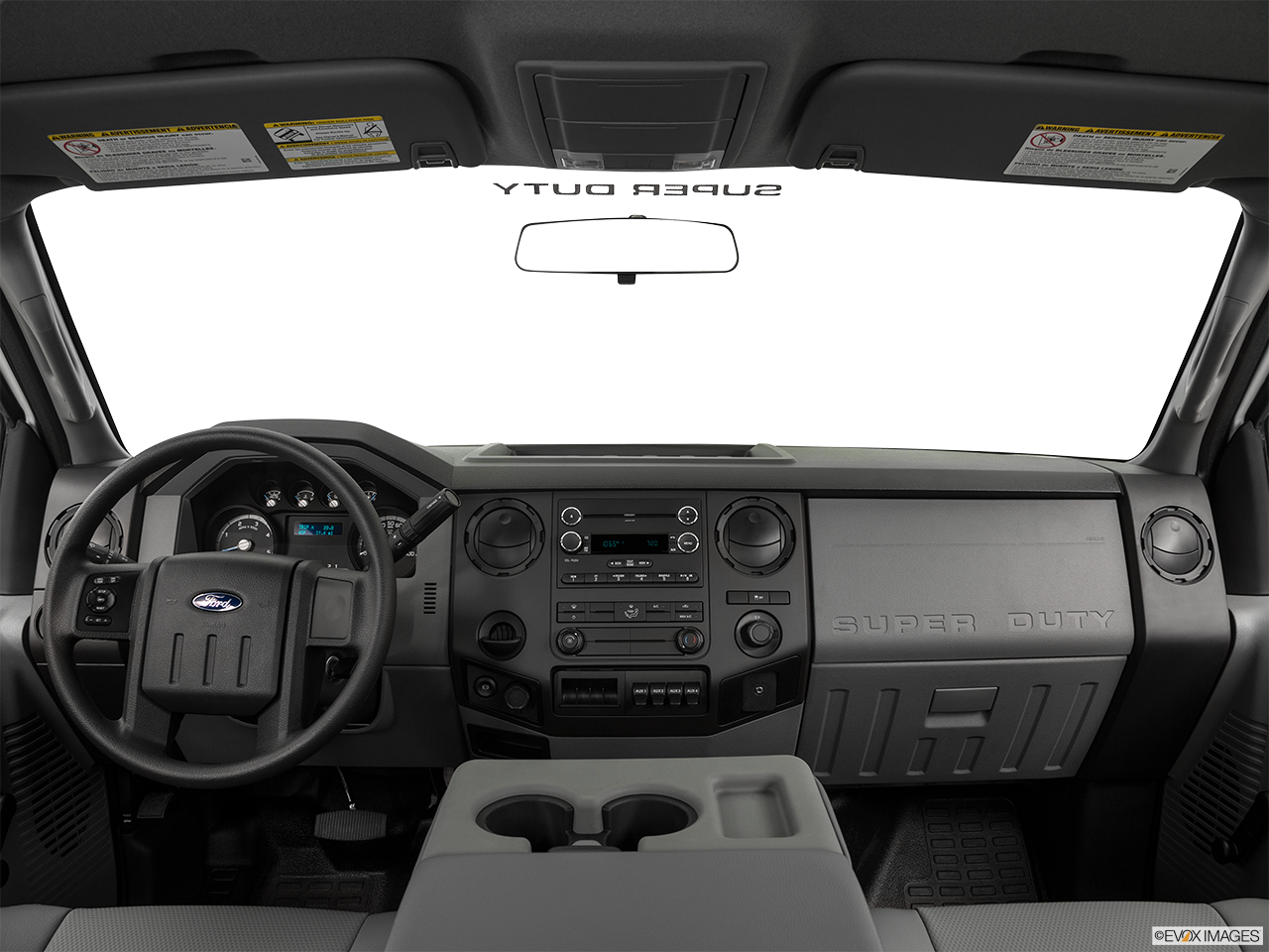 Interior View Of 2016 Ford Super Duty in Huntington Beach