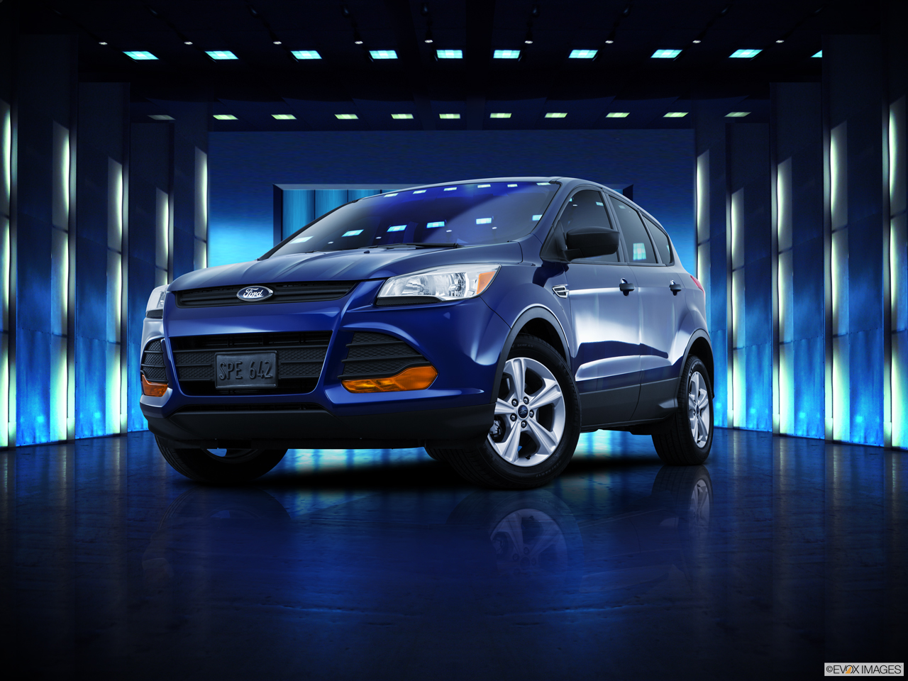 Exterior View Of 2016 Ford Escape in Huntington Beach