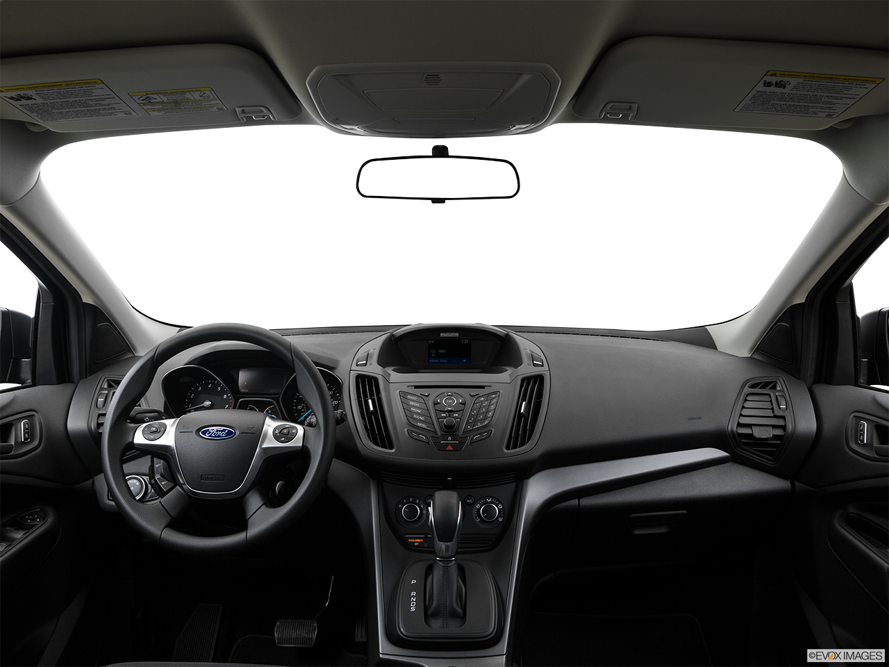 Interior View Of 2016 Ford Escape in Huntington Beach