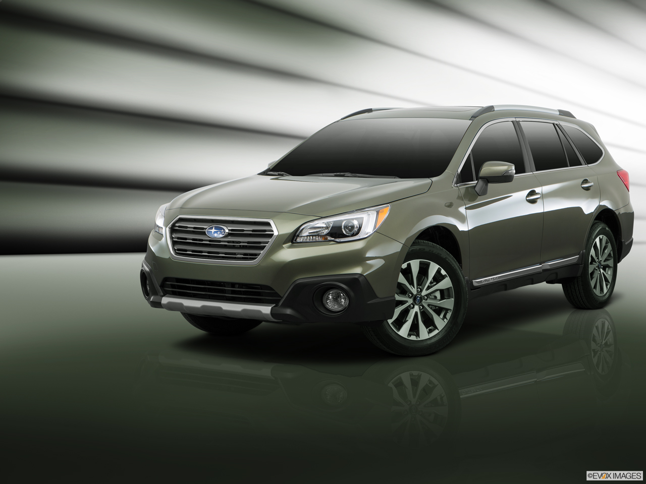 Exterior View Of 2017 Subaru Outback in Los Angeles