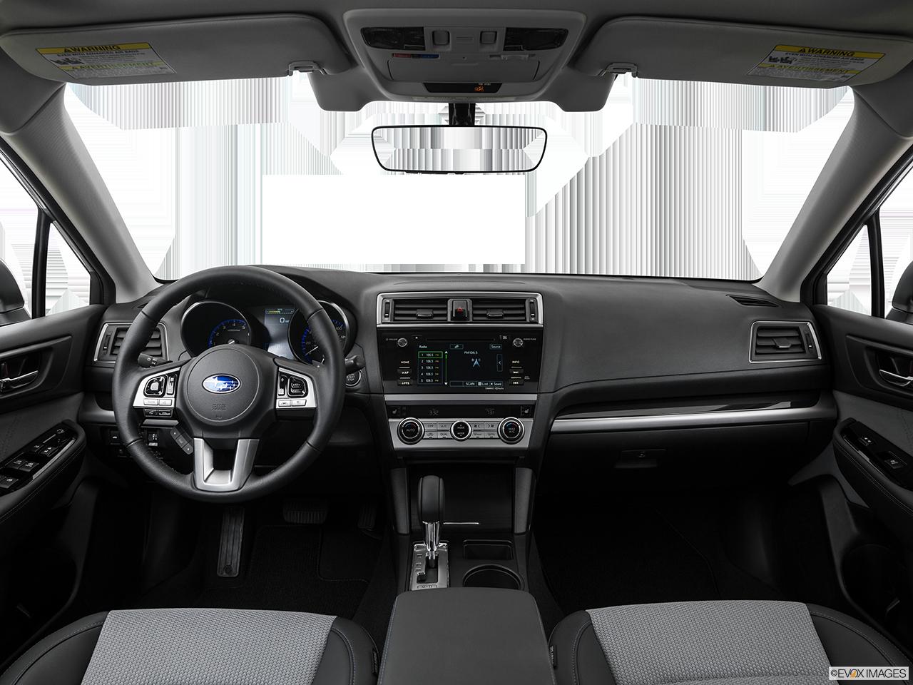 Interior View Of 2017 Subaru Legacy in Los Angeles