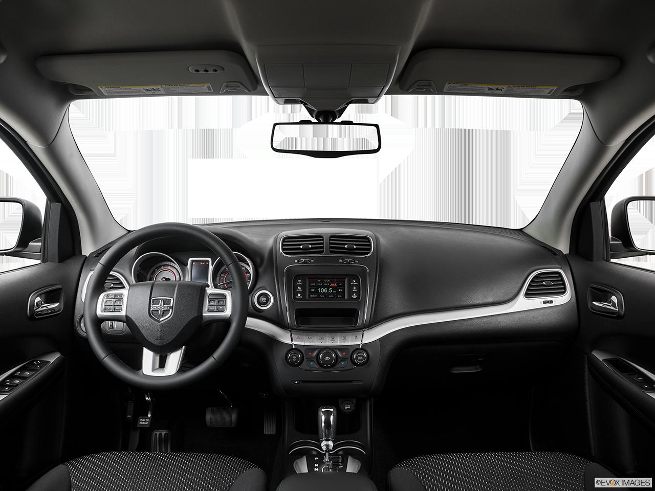 Interior View Of 2017 Dodge Journey in Yuba City
