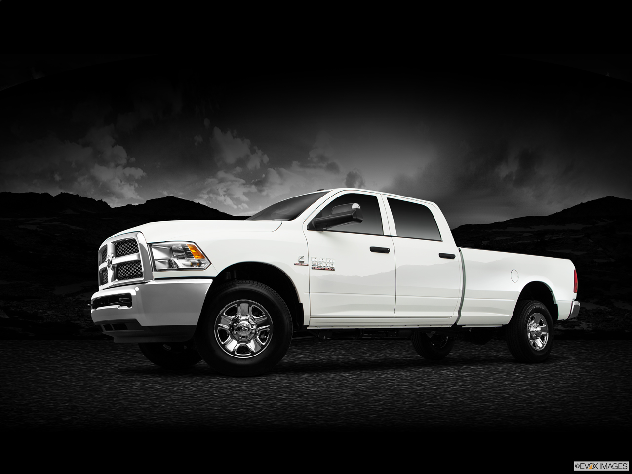 Exterior View Of 2016 RAM 3500  in Fort Pierce