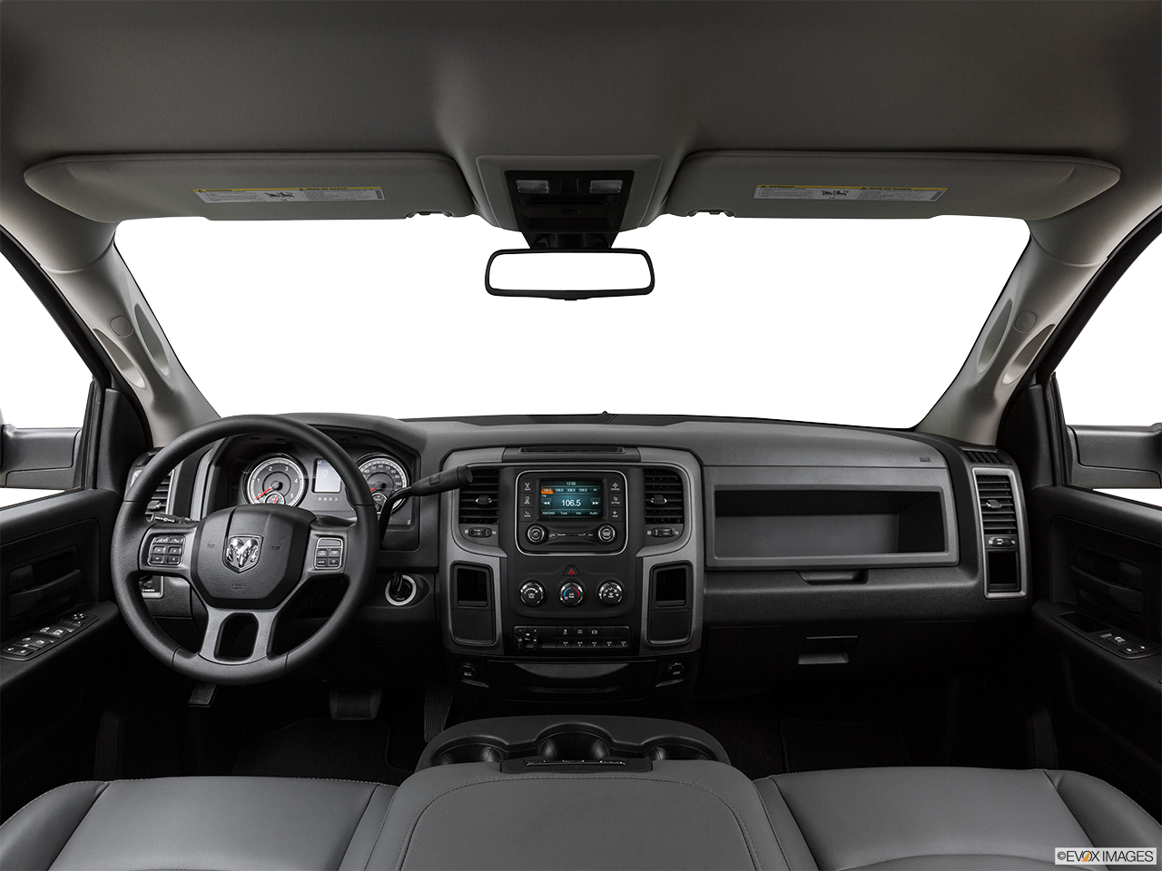 Interior View Of 2016 RAM 3500  in Fort Pierce