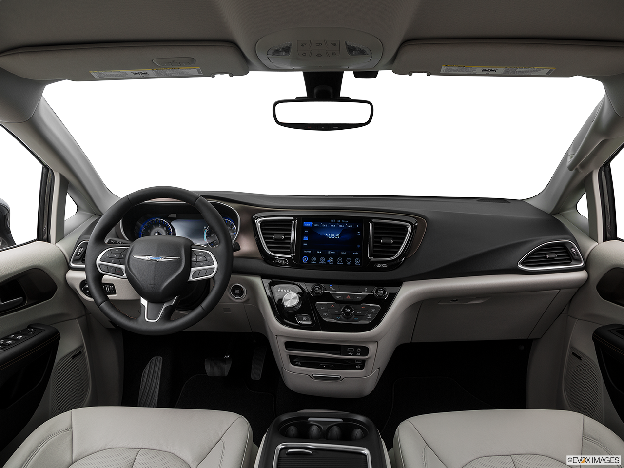 Interior View Of 2017 Chrysler Pacifica in Cullman