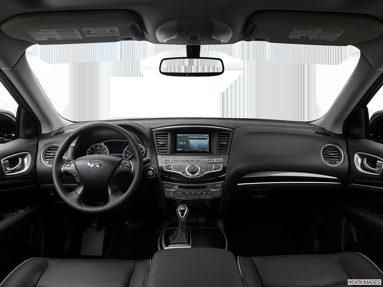 Interior View Of 2017 INFINITI QX60 in Aurora