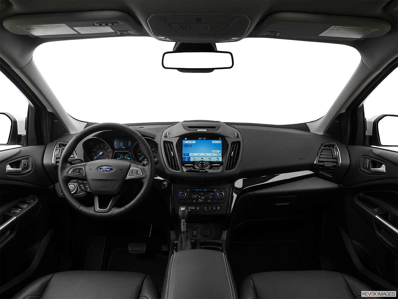 Interior View Of 2017 Ford Escape in Los Angeles