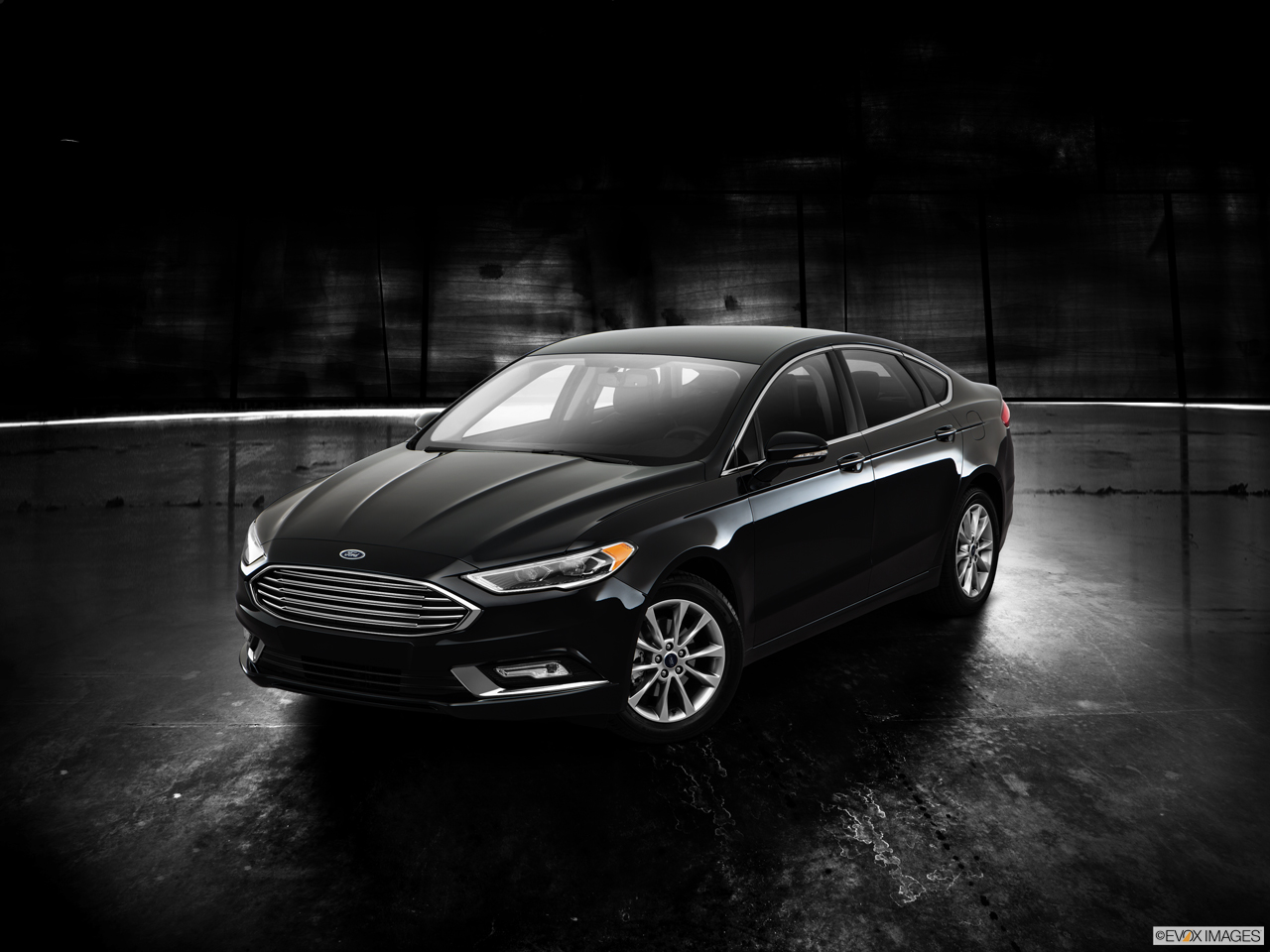 Exterior View Of 2017 Ford Fusion in Los Angeles