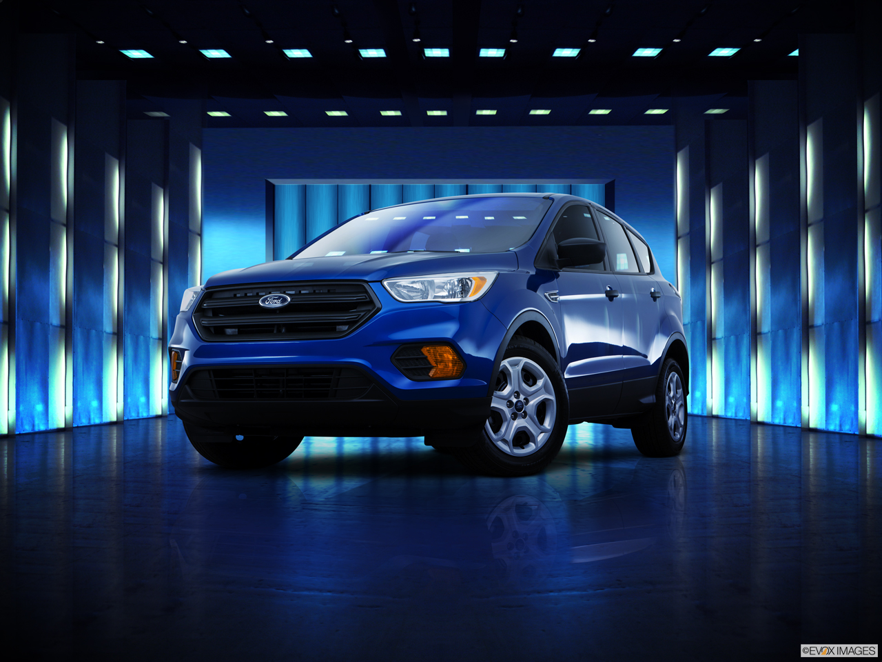 Exterior View Of 2017 Ford Escape in Huntington Beach
