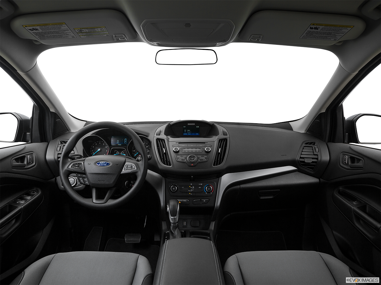 Interior View Of 2017 Ford Escape in Huntington Beach