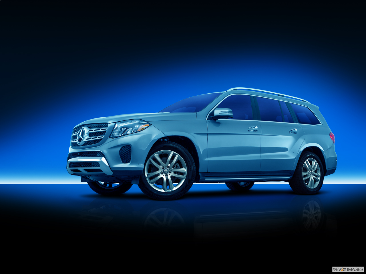 Exterior View Of 2017 Mercedes-Benz GLS450 in Shrewsbury