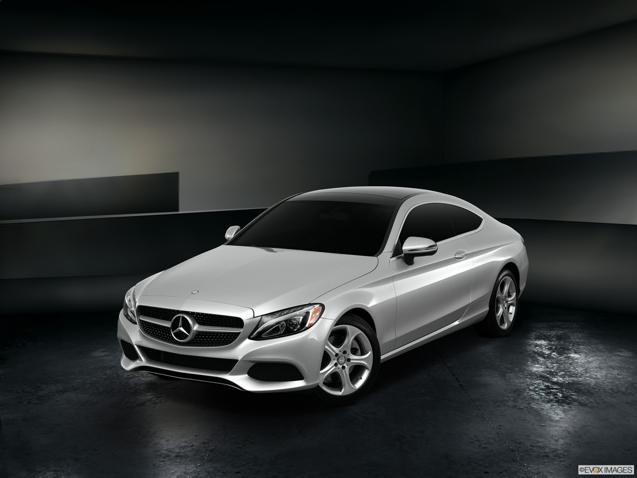 Exterior View Of 2017 Mercedes-Benz C300 Coupe in Shrewsbury