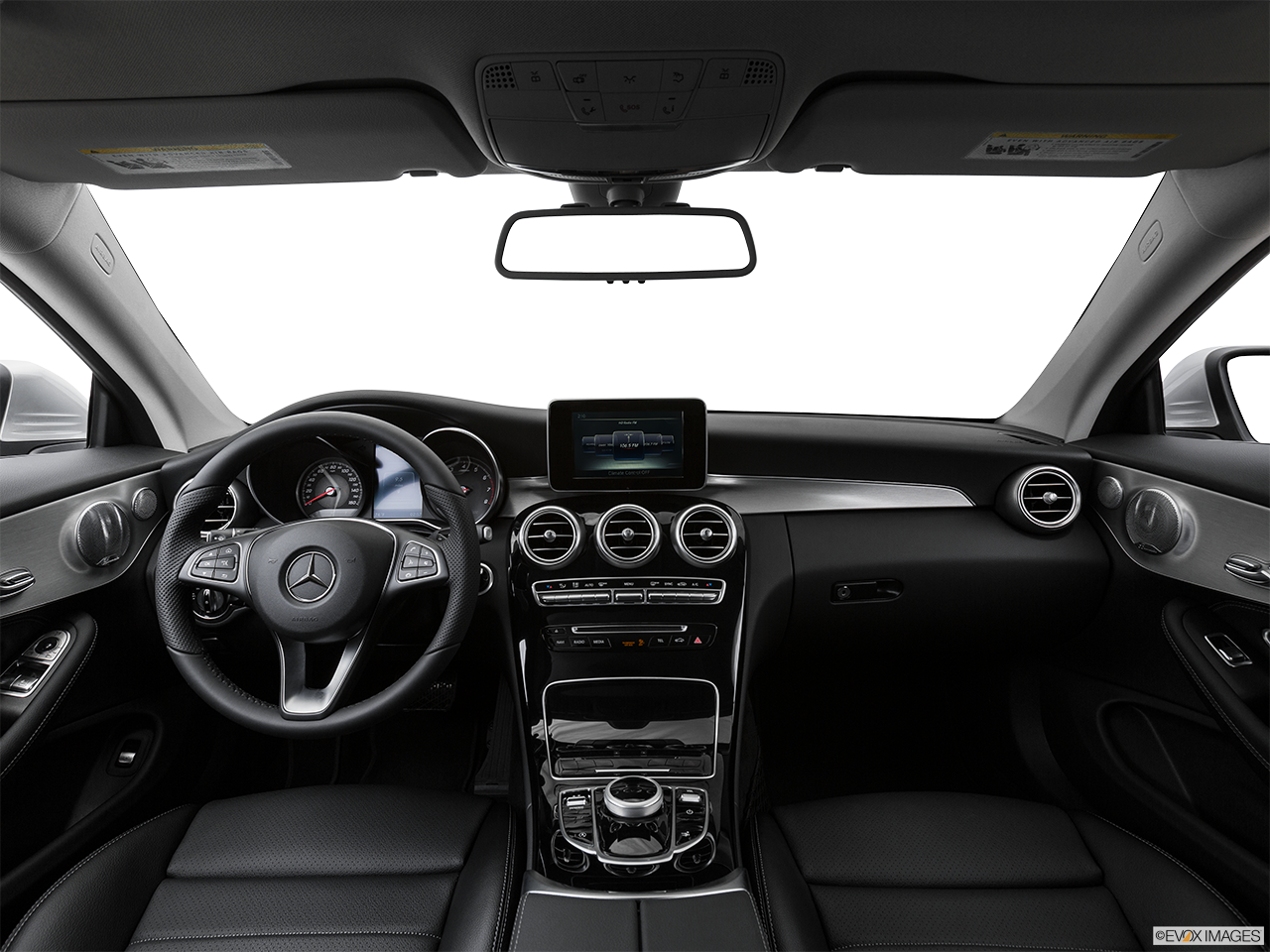 Interior View Of 2017 Mercedes-Benz C300 Coupe in Shrewsbury