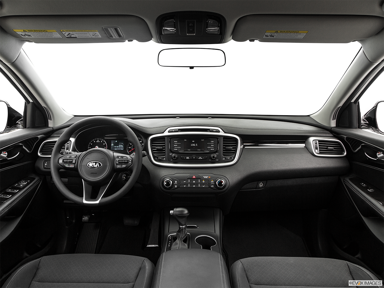 Interior View Of 2017 Kia Sorento in Alhambra